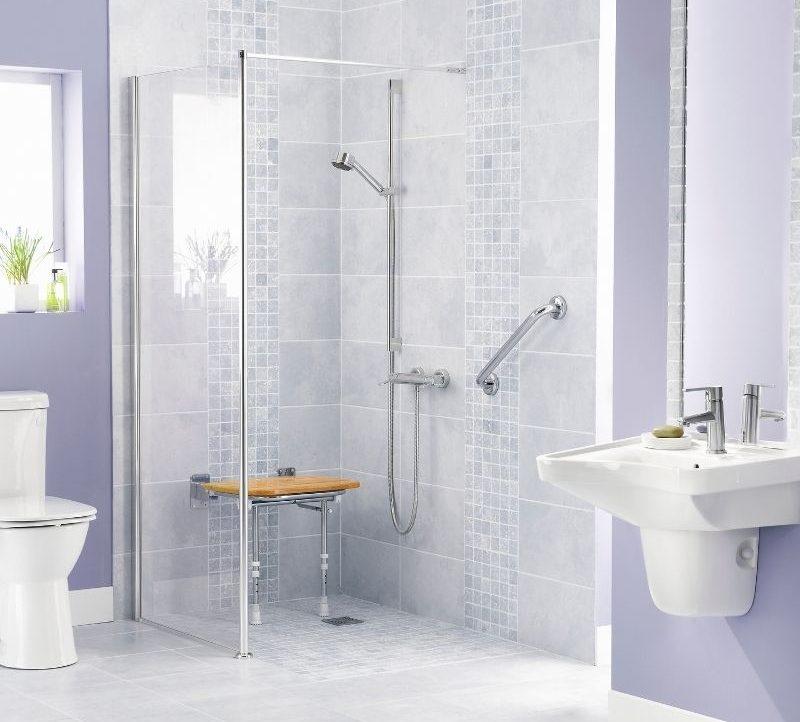 Salle de bains PMR à Niort